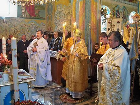 Пастирські відвідини с. Устя