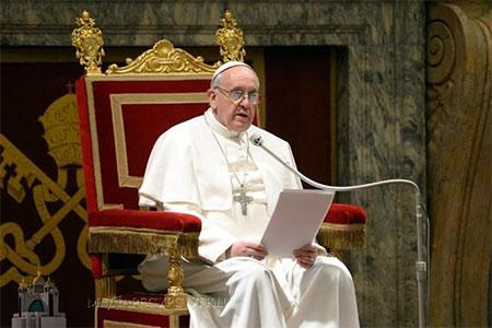 Папа: «Міцна сім'я – це відповідь на виклики завтрашнього дня»
