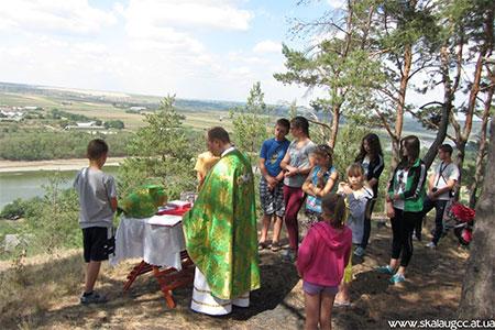 Екологічно-християнський табір молоді Скали-Подільської