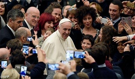 Папа: найкращий різдвяний подарунок робить нам Небесний Отець