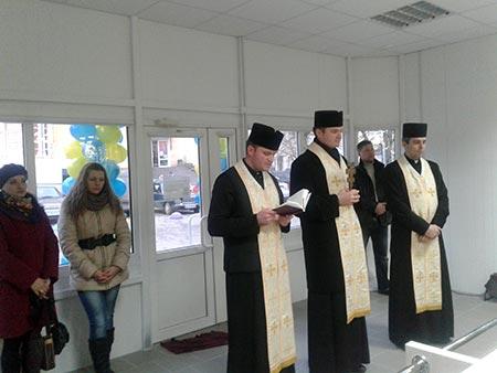 В Чорткові освячено церковну крамницю