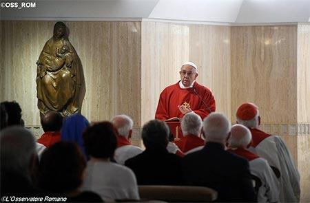 Папа: Корупція – це богохульство, цивілізація ідола-гроша занепаде