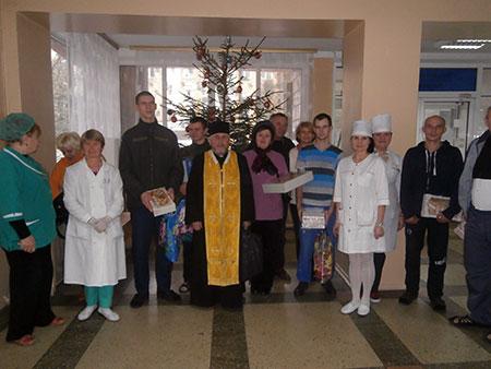Волонтери Борщівщини відвідали військовий госпіталь