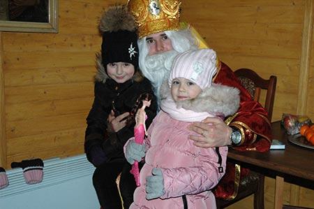 Святий Миколай в гостях на парафії церкви Вознесіння ГНІХ у м. Чортків