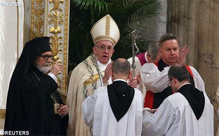Папа під час екуменічної вечірні: Єдність неможлива без самопожертви