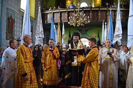 Посвячення Хресної Дороги в с. Ягільниця