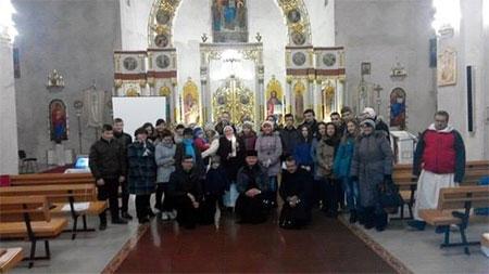Молодь Чорткова духовно готується до Світових Днів Молоді (СДМ)