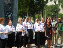 З нагоди 74-ї річниці увіковічнення пам'яті закатованих в'язнів Чортківської тюрми